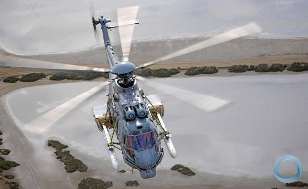 EC725 developed for Brazilian Navy carrying Exocet AM39-2