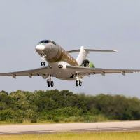EMBRAER flies first Legacy 500 assembled in Melbourne