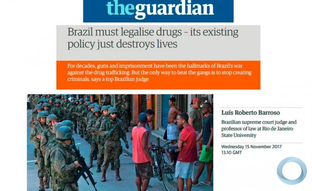Luis Roberto Barroso - Brazil must legalise drugs – its existing policy just destroys lives