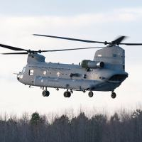 The Royal Netherlands Air Force will modernize six CH-47 Chinooks to the latest F-model configuration. (Boeing photo)